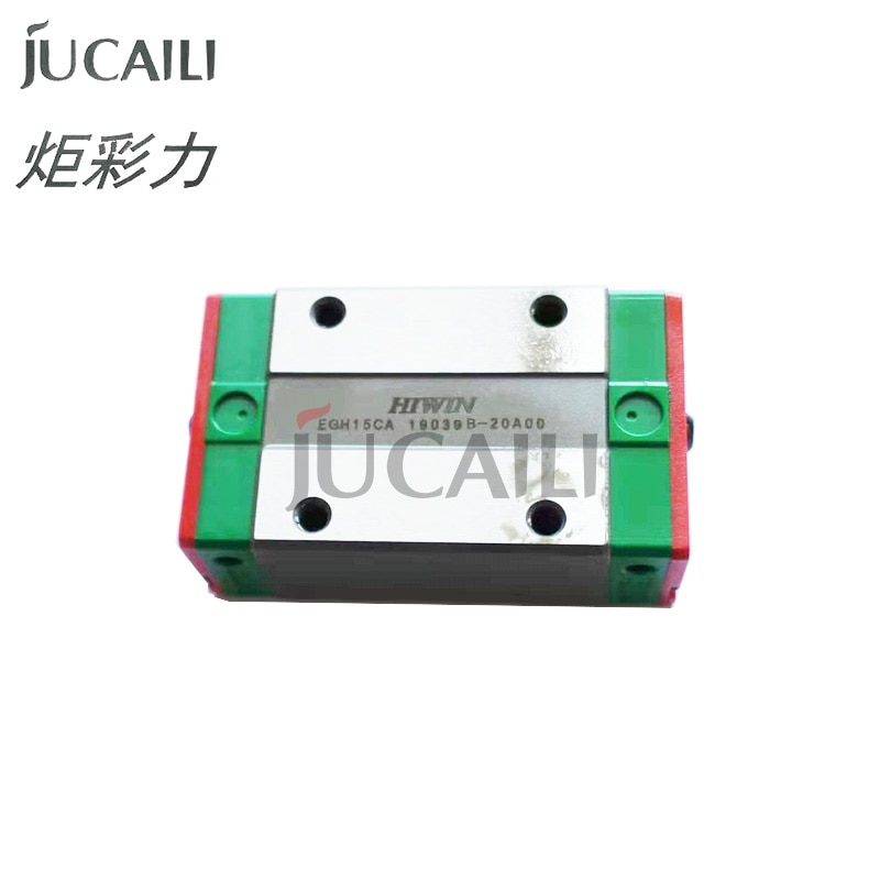 Jucaili 1 قطعة الأصلي HIWIN EGH15CA المنزلق كتلة للطابعة شكل كبير EGR15 دليل خطي السكك الحديدية ل CNC راوتر EGH15 كاليفورنيا