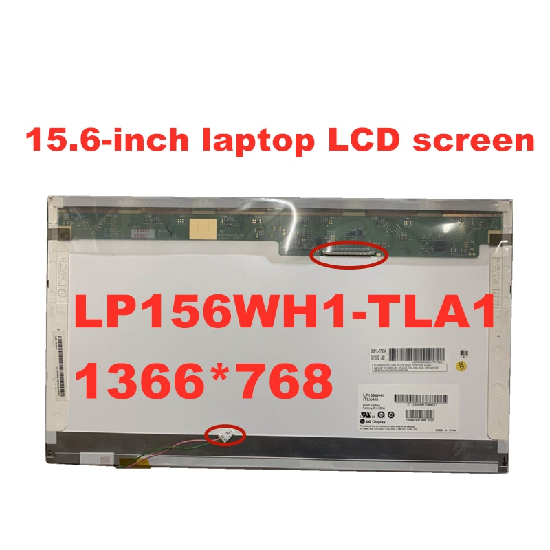 Free Shipping LP156WH1 TLA1 TLC1  LTN156AT01 CLAA156WA01A  B156XW01 V.0 V.1 V.2 V.3 N156B3-L02 L0B 1366*768 LCD screen  30pins