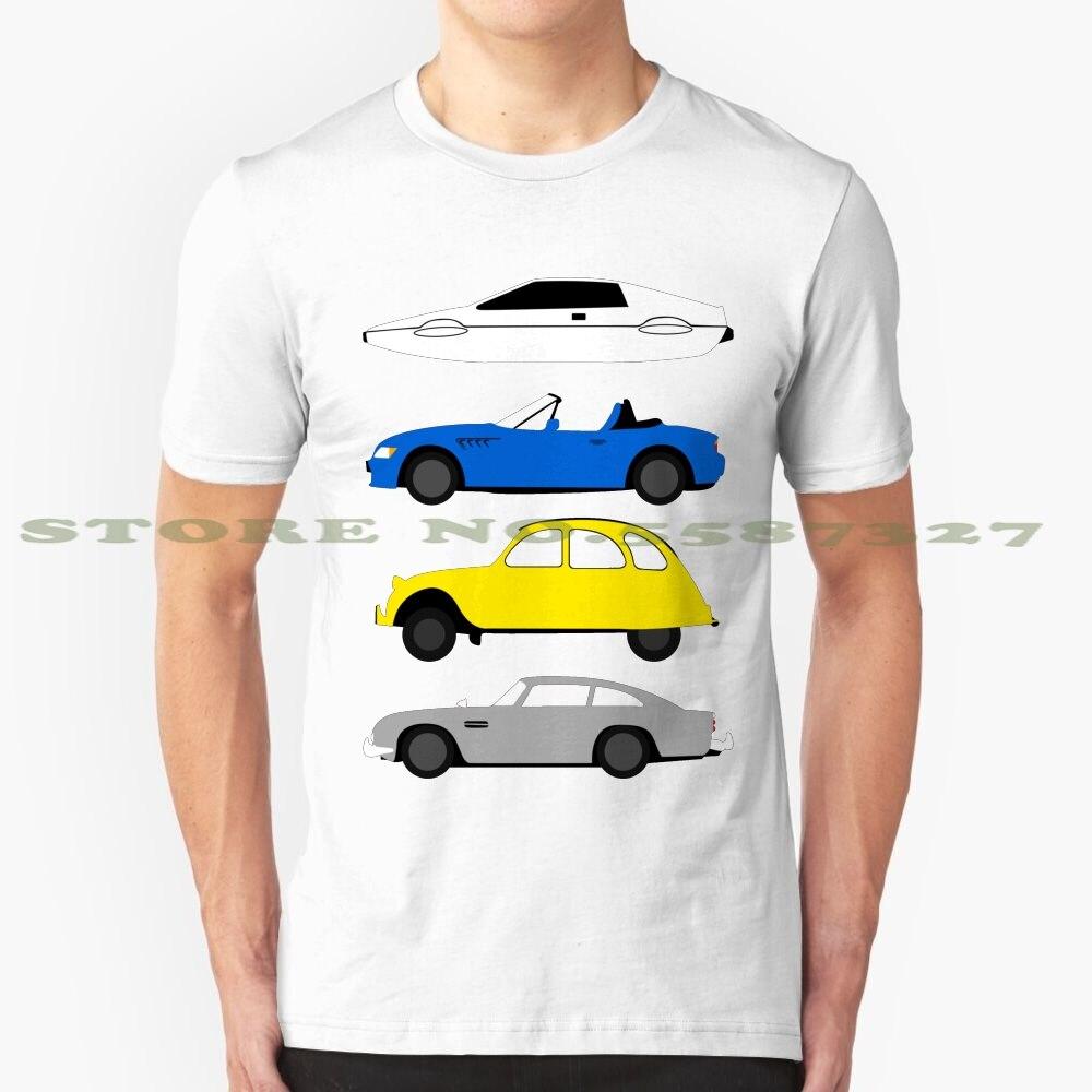 The Car's The Star : James Bond cool design t-shirt for men women