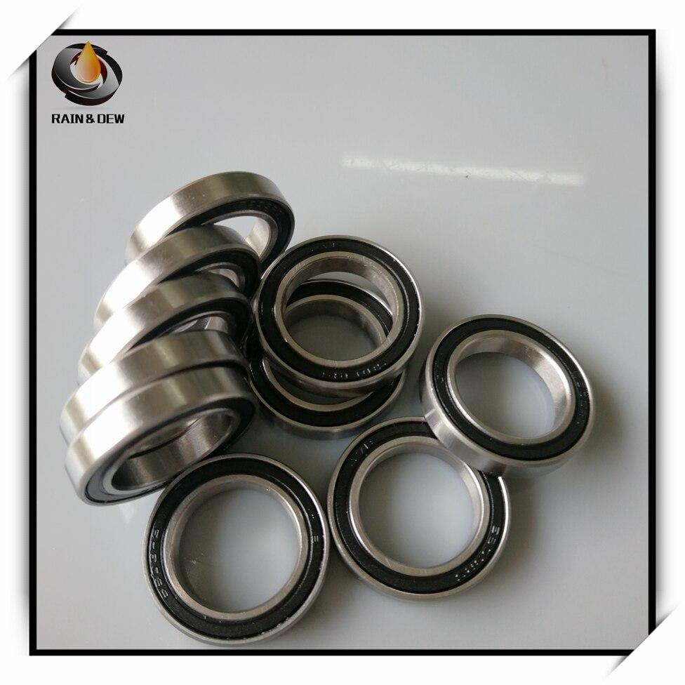 Rodamientos de bolas de ABEC-7, 10 Uds., 6803 2RS, 17*26*5mm, sección delgada...