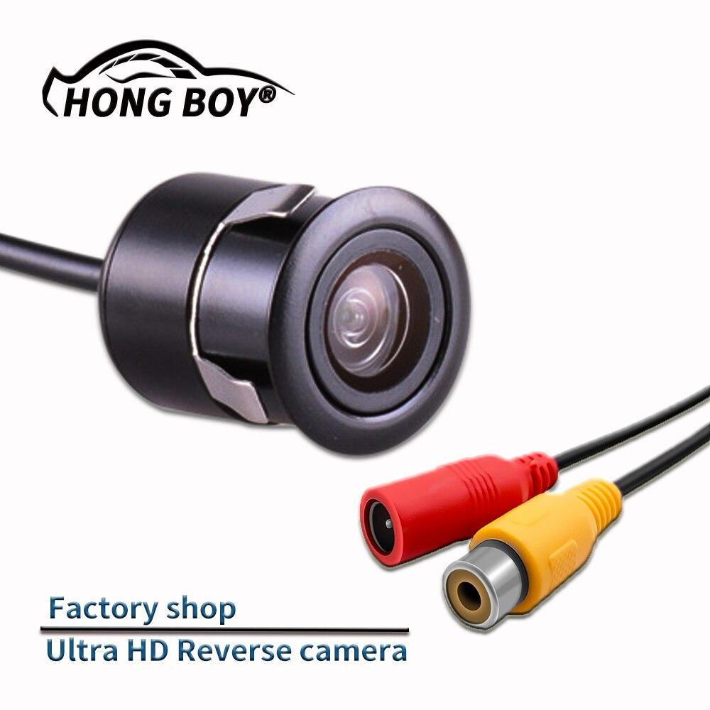 Darmowa wysyłka, HONGBOY tylna kamera samochodowa kolor HD obraz wideo night vision 170 stopni szeroki kąt wodoodporna kamera samochodowa