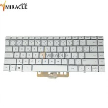 Tastatur für HP Spectre 13-AF 13-AF002TU 13-AF001NG SK Slowakei PK1321W1B22 SN7162BL1 SG-88710 55A 7J1830 weiß kb hintergrundbeleuchtung