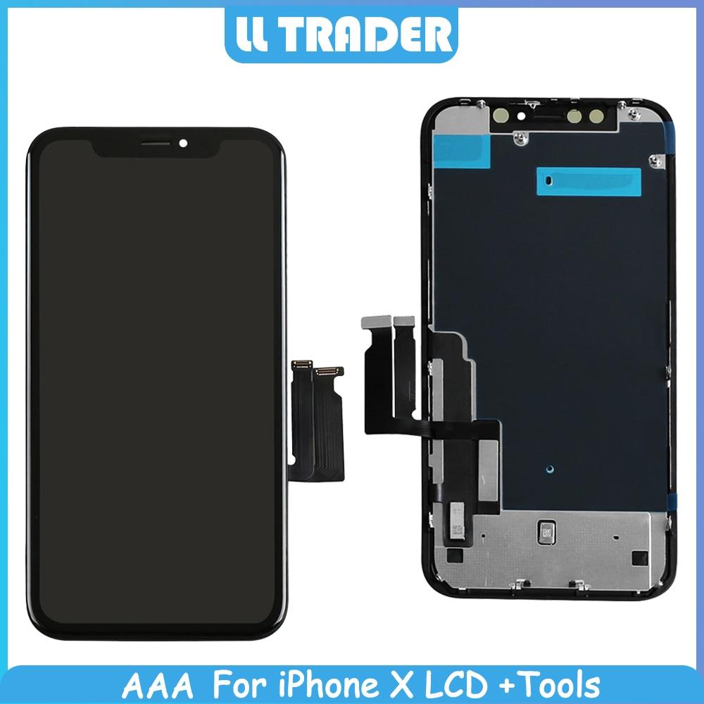 Pantalla LCD de 6,1 pulgadas para iPhone XR Pantalla táctil de repuesto OLED para iPhone XR Pantalla táctil digitalizador completo sin píxeles muertos