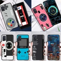 silicone case for samsung galaxy a51 a71 a21s a12 a31 a32 a52 a41 a02s a10 m31 m51 soft phone coque vintage camera cassette