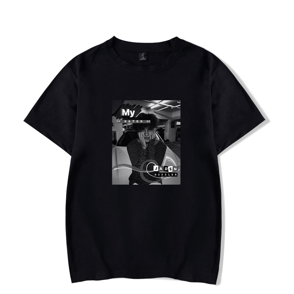 2020 Jaden Hossler Tshirt Custom O-Neck Men's T-shirt Women Short Sleeve Tshirts Harajuku Casual Unisex Discount Jxdn Clothes
