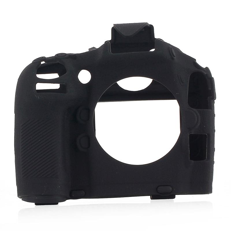 Чехол для камеры Nikon D800, силиконовый чехол для камеры, высококачественный чехол с текстурой личи, нескользящий чехол для камеры Nikon D800, защит... чехол