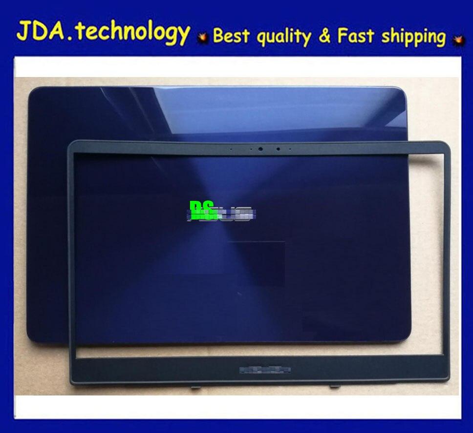 Fundas LCD para ordenador portátil para ASUS ZenBooK UX430 ux430oa UX430UQ U4100U contraportada + bisel frontal, azul