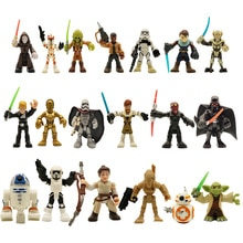 7 см свободные Оригинальные Звездные войны фигурки игрушки коллекция йода Скайуокер Дарт Вейдер игрушка шарниры подвижные маленькие дефекты