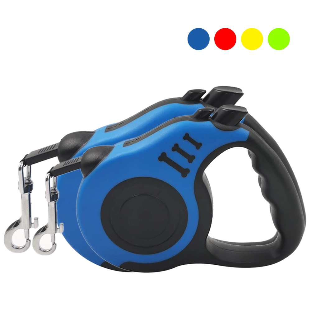 3/5M Dog Leash Durable Leash Automatic Retractable Walking Running Leads Dog Cat Leashes Extending Dogs Pet Products
