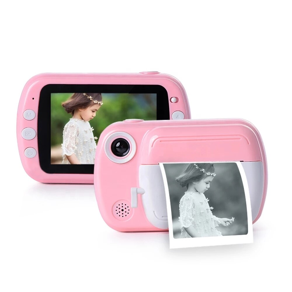 Digital Children Camera 3.5-inch 1080P HD Printable kids Camera Thermal Digital Children's educational toys gifts video camera