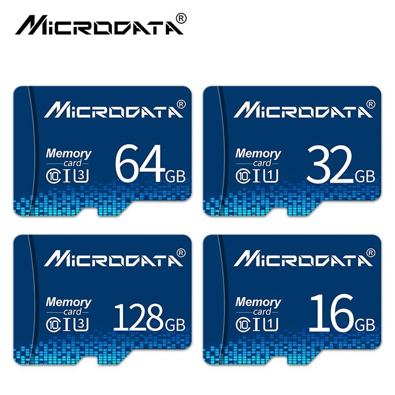 New Micro SD Card 4GB 8GB 16GB 32GB 64GB 128GB Class 10 UHS-1 Flash Drive Memory Card TF Card 32 GB For Smartphone Cameras