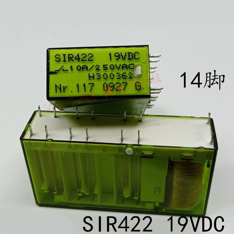 Neue 1 teile/los SIR422 19VDC SIR422 SIR422-19VDC 10A 19V PIN14