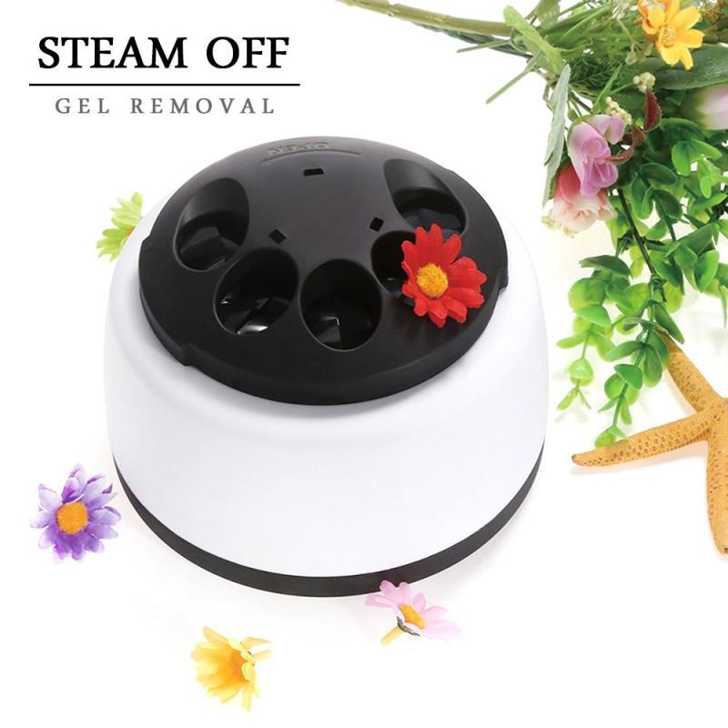36W de vapor eléctrico de Gel UV polaco   La máquina de vapor quitaesmalte de uñas de Gel eliminador para poner en remojo uñas herramienta