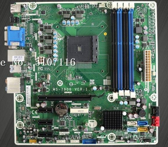 De alta calidad de escritorio placa base para A88 FM2 FM2 + MS-7906 747512-501, 808920-002/602 se prueba antes del envío