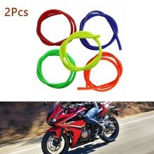 2 uds. Tubo de manguera de combustible de aceite de alta calidad colorido de 1 metro Pit Trail Dirt Quad Bike ATV motocicleta Quad Bikes y Buggies