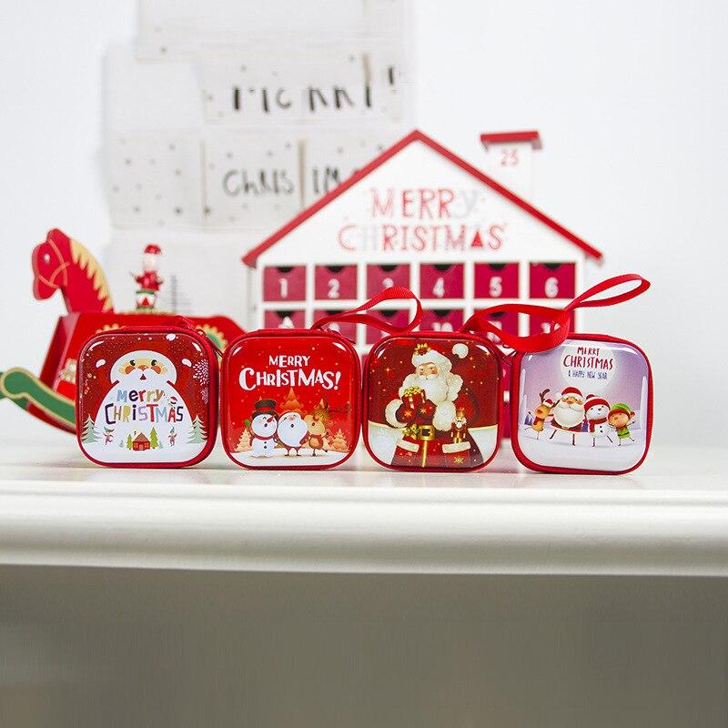 Navidad 2020 החג שמח מתנה מטבע תיק נואל Enfeites De לידה Cristmas דקור חדש שנה 2020 חג המולד קישוטים לבית, ש