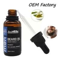 30ml mens beard growth oil fast beard growth promoter care oil beard skin moisturizing p6r4
