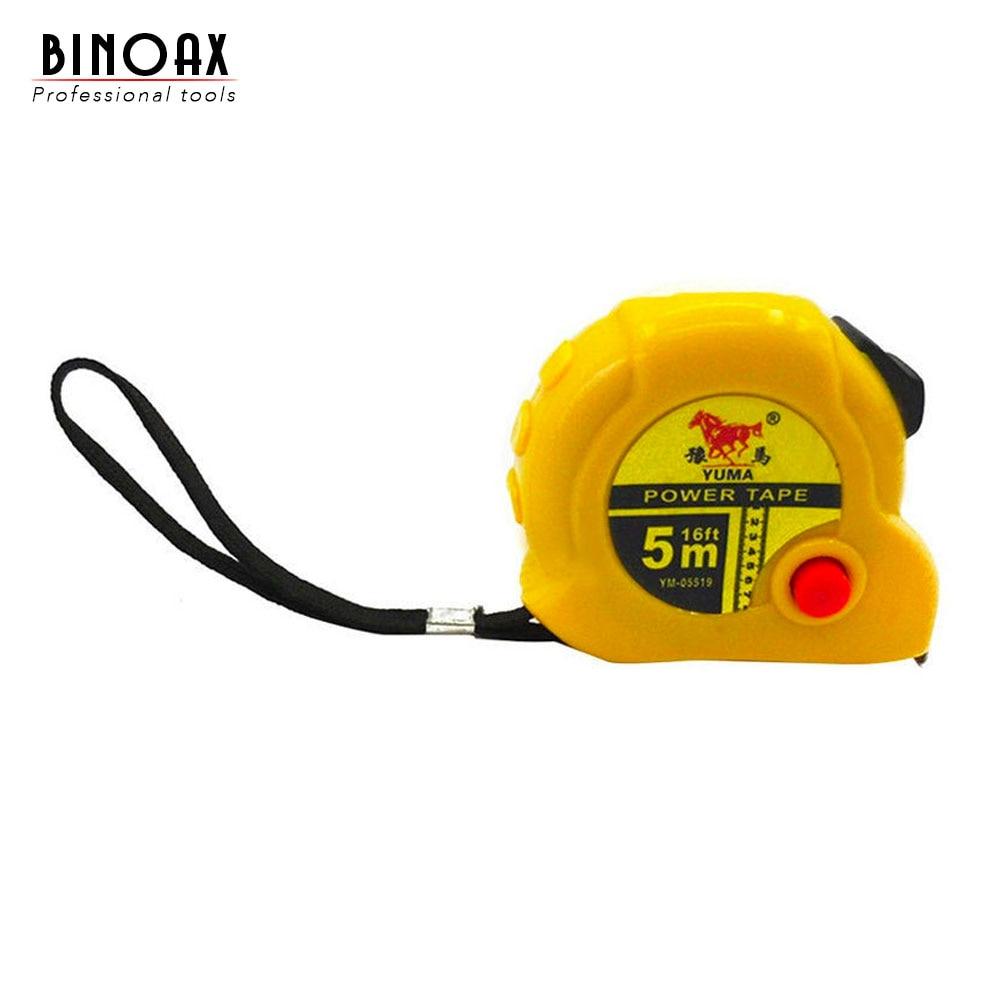 Binoax 5m régua retrátil fita medida costura pano métrica alfaiate tool # nd00333 #