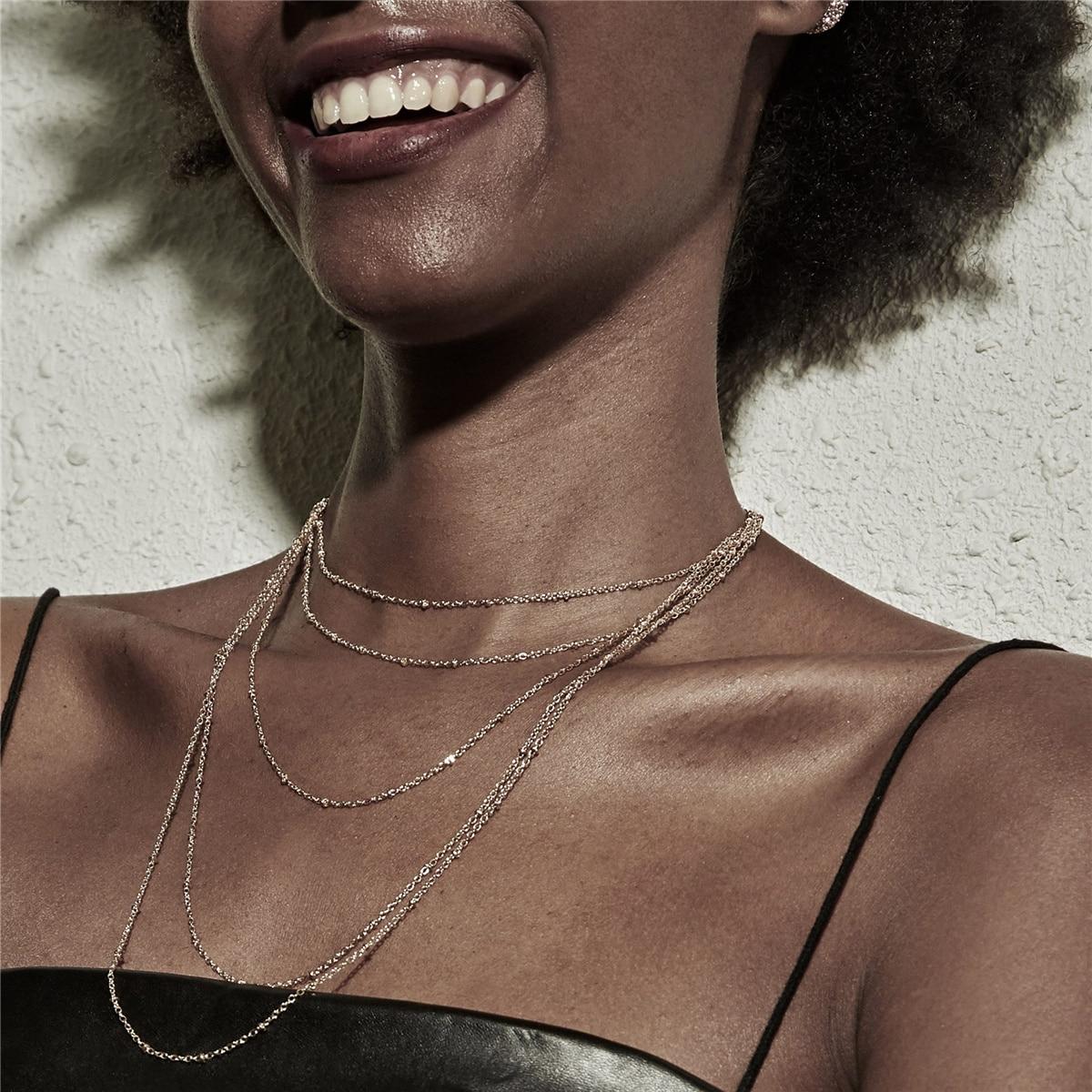 Hip hop cubana borla gargantilha colar colar declaração feminina festival jóias punk rock multi camada corrente de ferro colar steampunk