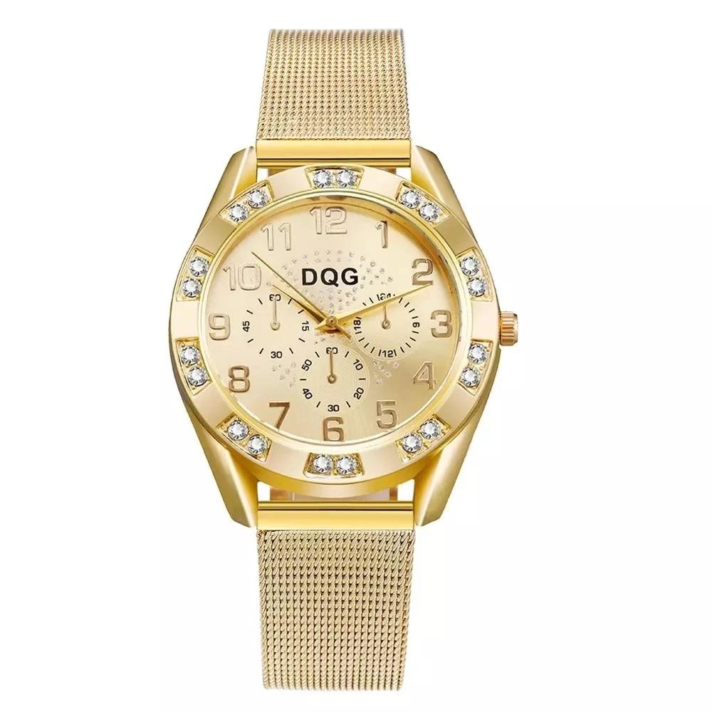Reloj Mujer 2021 Новые известные бренды повседневные полностью Стальные кварцевые часы женские роскошные стразы женские часы Relogio Feminino Montre