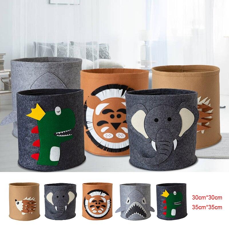 1 cesta de lavandería de fieltro, cesto de almacenamiento cuadrado, cesto de almacenamiento, cesta de juguete plegable, organizador de cubo de gran capacidad