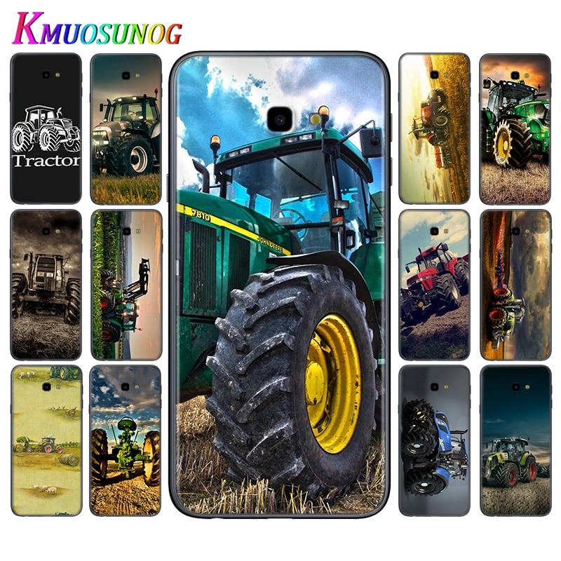 Cubierta de neumático grande para coche tractor para Samsung Galaxy J8 J7 Duo J6 J5 Prime J4 Plus J3 J2 Core 2018 2017 2016