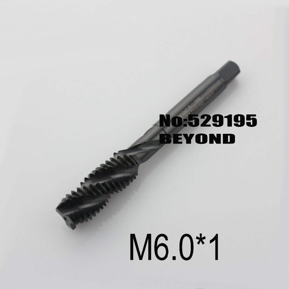 M6 * 1 T1121 ، سلسلة كوريا لخيوط holesuable الكربون الصلب وسبائك ثقب أعمى تجهيز ، إزالة رقاقة جيدة