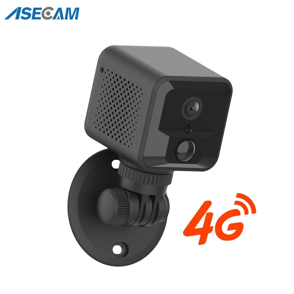 كاميرا مراقبة فيديو لاسلكية صغيرة للأطفال ، كاميرا مراقبة فيديو لاسلكية صغيرة مع بطارية واي فاي ، 4G ، 1080P ، صوت ثنائي الاتجاه