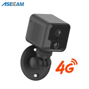 4G Mini Camera 1080P Wifi Battery Two Way Audio Security Camera CCTV Small Baby Monitor Wireless Video Surveillance