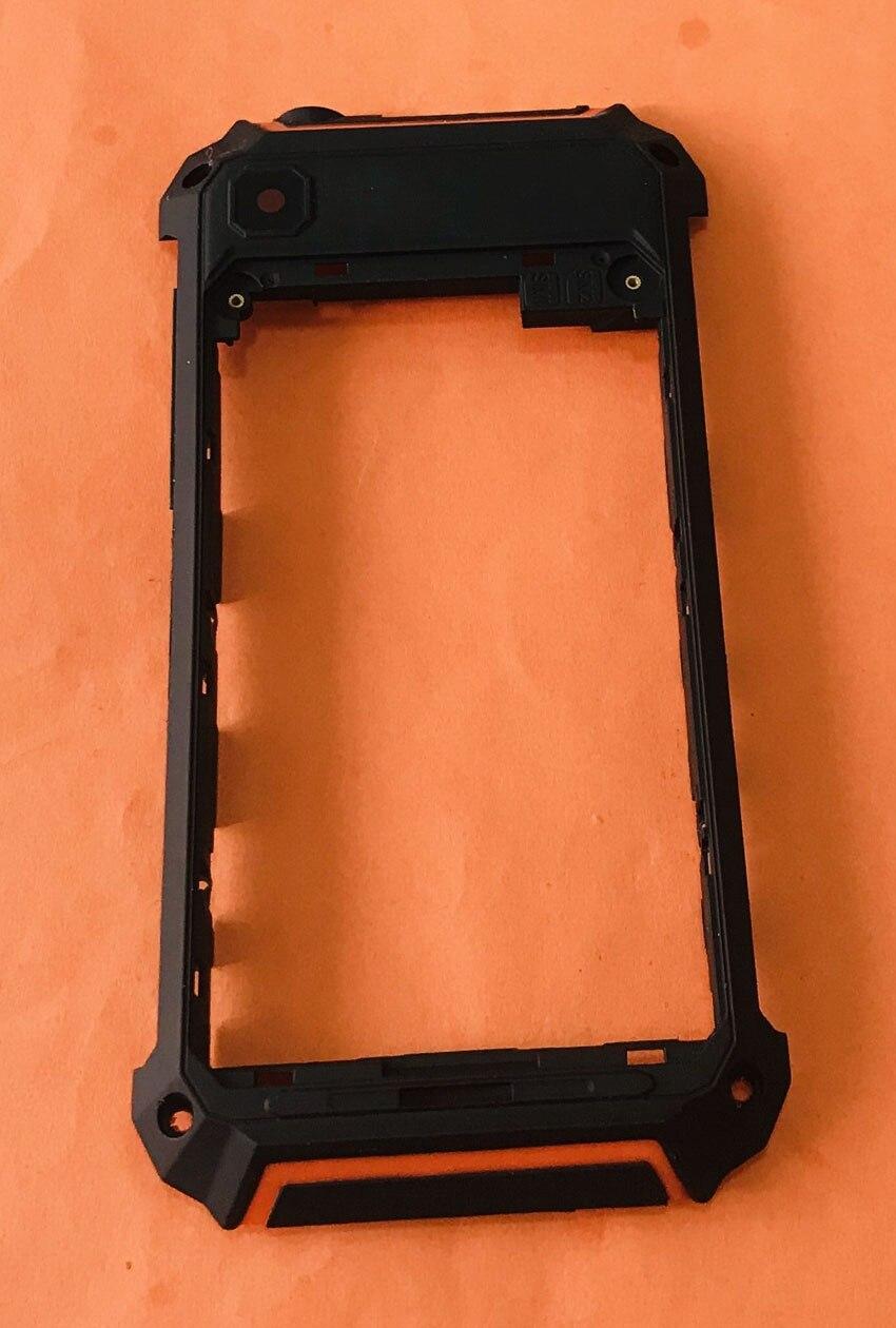 Carcasa de Marco trasero Original usada + Cristal de cámara + antenas para Geotel G1 MTK6580A Quad sin núcleo