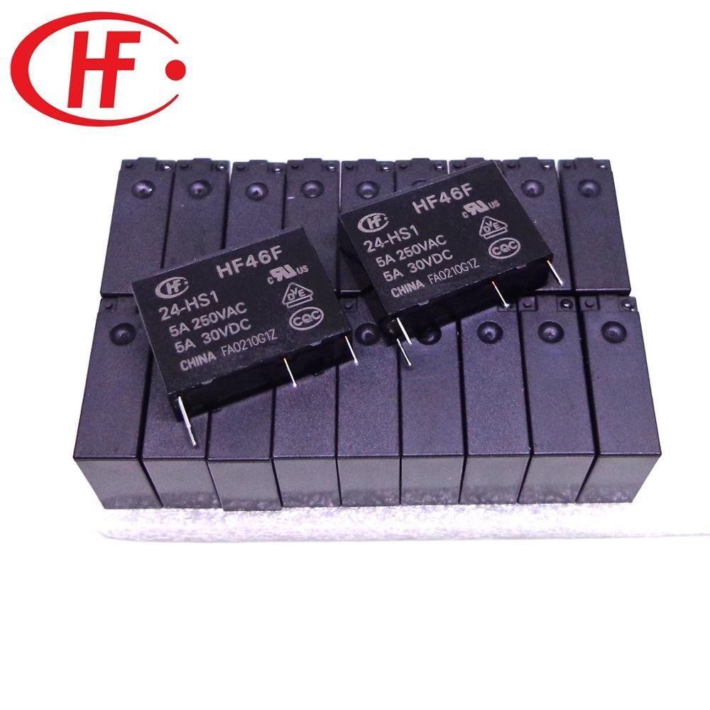 HF تتابع HF46F-12-HS1 HF46F-24-HS1 HF46F-5-HS1 HF46F-3-HS1 HF46F-18-HS1 5A HF46F 3 5 12 18 24 HS1 جديدة ومبتكرة