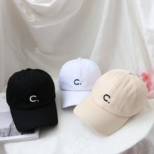 Hat Women's Korean-Style Trendy Summer Ins Face-Looking Little Wild Letter Baseball Simple Fashion P