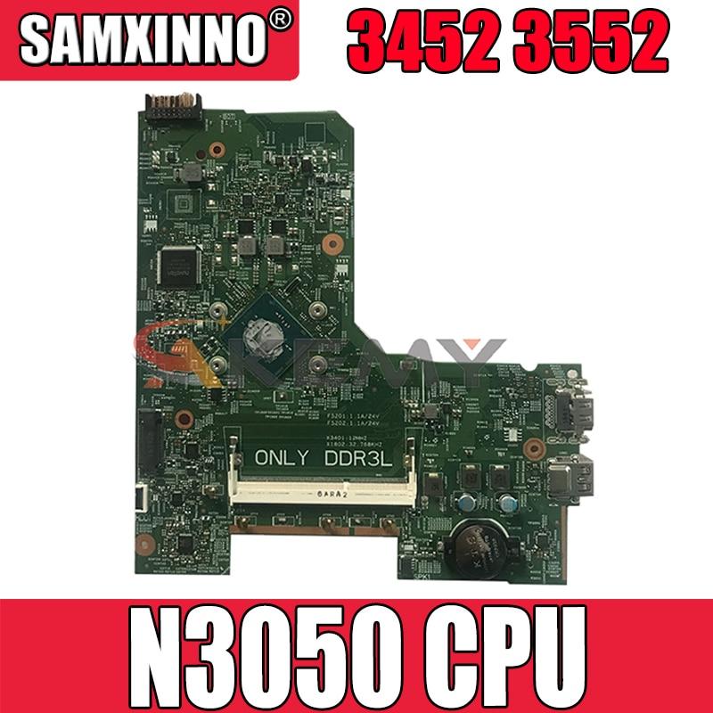 Akemy 14279-1 لأجهزة الكمبيوتر المحمول DELL Inspiron 3552 3452 اللوحة الأم N3050 CPU PWB 896X3 CN-041D5Y 41D5Y اللوحة الرئيسية 100% تم اختبارها