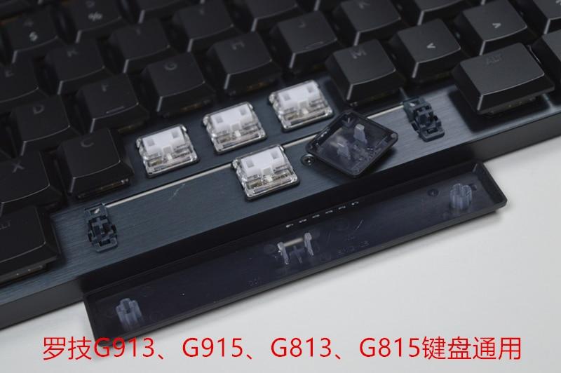 1 مجموعة كاملة الأصلي شفافة مفتاح قبعات ل لوجيتك لوحة المفاتيح G913 g915 g813 g815 مع GL التبديل قصيرة الخلفية أغطية المفاتيح مع صندوق