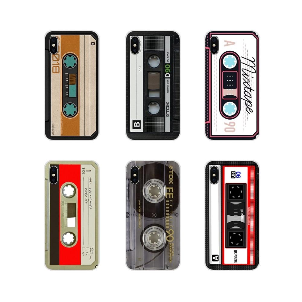 Для Huawei Y5 Y6 Y7 Y9 Prime Pro GR3 GR5 2017 2018 2019 Y3II Y5II Y6II винтажная магнитная лента кассета прозрачный мягкий чехол