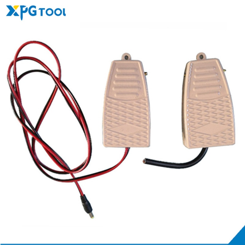 extra micro switch free your hand metal foot pedal foot switch 1 8 meters cable 2 pins connector spot welding switch tig torch Multifunctional spot welding machine foot switch, machine tool foot switch, control panel supporting tools
