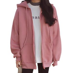 Women Hoodie Winter Thin Texture Women Hoodie Solid Color Solid Color Drawstring Hooded Coat Solid Drawstring Hooded Coat