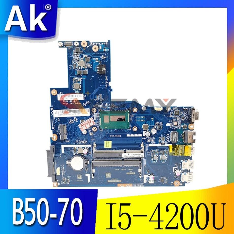 ينطبق على B50-70 اللوحة الأم للكمبيوتر المحمول I5-4200U UMA رقم LA-B092P FRU 90007366 90007365