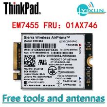 Lenovo GOBI6000 EM7455 01AX746 module 4G pour Thinkpad YOGA 370, A275/475, L470/570, P51/51S/71, T25/470/470S/570