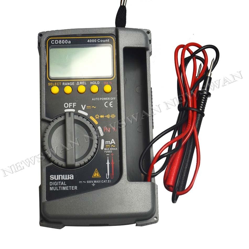 CD800a الرقمية متعددة السعة الكهربائية قياس التردد اليد حزام دليل التعليمات