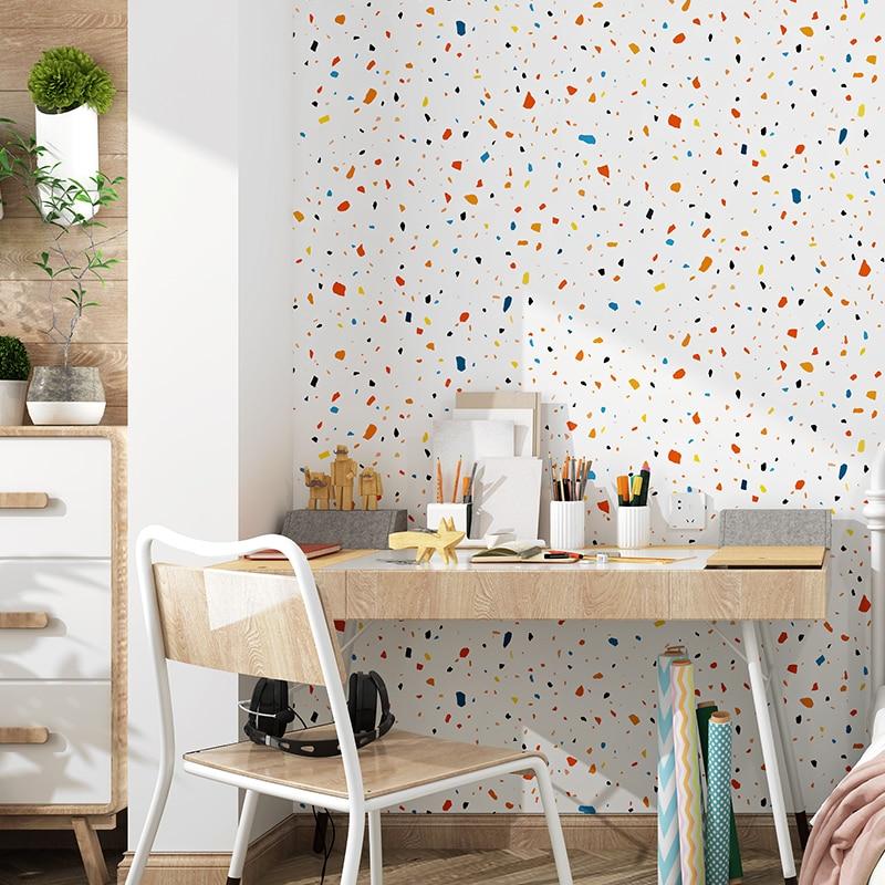 Diatom nórdico Ins papeles tapiz para el dormitorio decoración de pared sala de estar rollo de papel impermeable Ins pared Mural