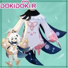 Dokidoki-r jeu Genshin Impact Cosplay Paimon Cosplay déguisement jeu Genshin Impact Paimon déguisement