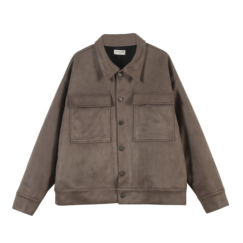 Mejor versión 11 Arnodefrance High Street Chamois mujeres hombres chaqueta de bolsillo abrigo Hiphop Streetwear hombres chaqueta informal de abrigo