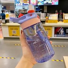 4 Colors Baby Water Bottles Infant Newborn Cup Children Learn Feeding Straw Juice Drinking Bottle BPA Free for Kids