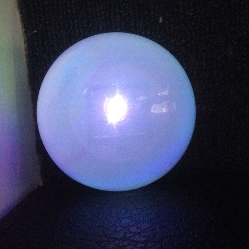 venda quente energia solar led bola lampada mudanca de cor constante rgb luz recarregavel