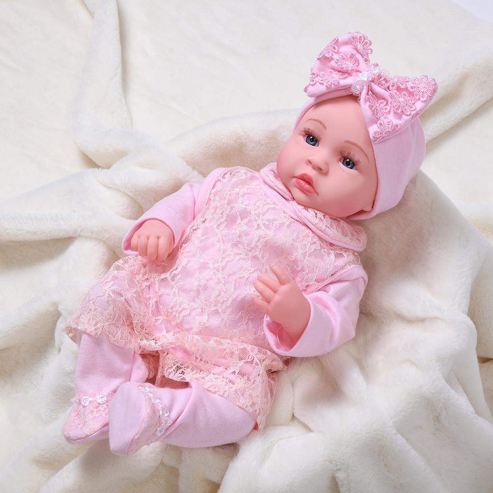 AliExpress - 45CM Cute Reborn Baby Doll Girl Electric Bebe Reborn Dolls Toy Black African Reborn Doll Soft Body Silicon Doll Girls Toy Gifts