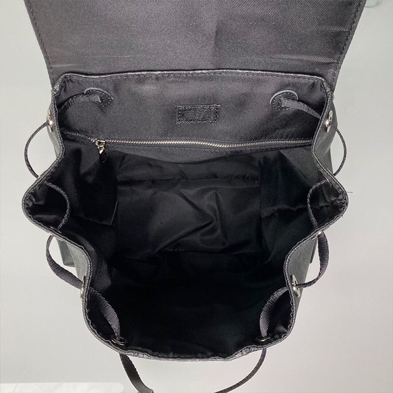 Роскошный высококачественный мужской дорожный рюкзак черный модный дизайнерский мужской рюкзак
