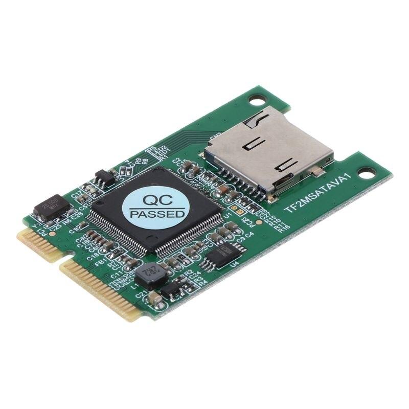 Micro SD TF карта для Mini PCI-E mSATA SSD твердотельный накопитель адаптер конвертер для ПК компьютера ноутбука аксессуары