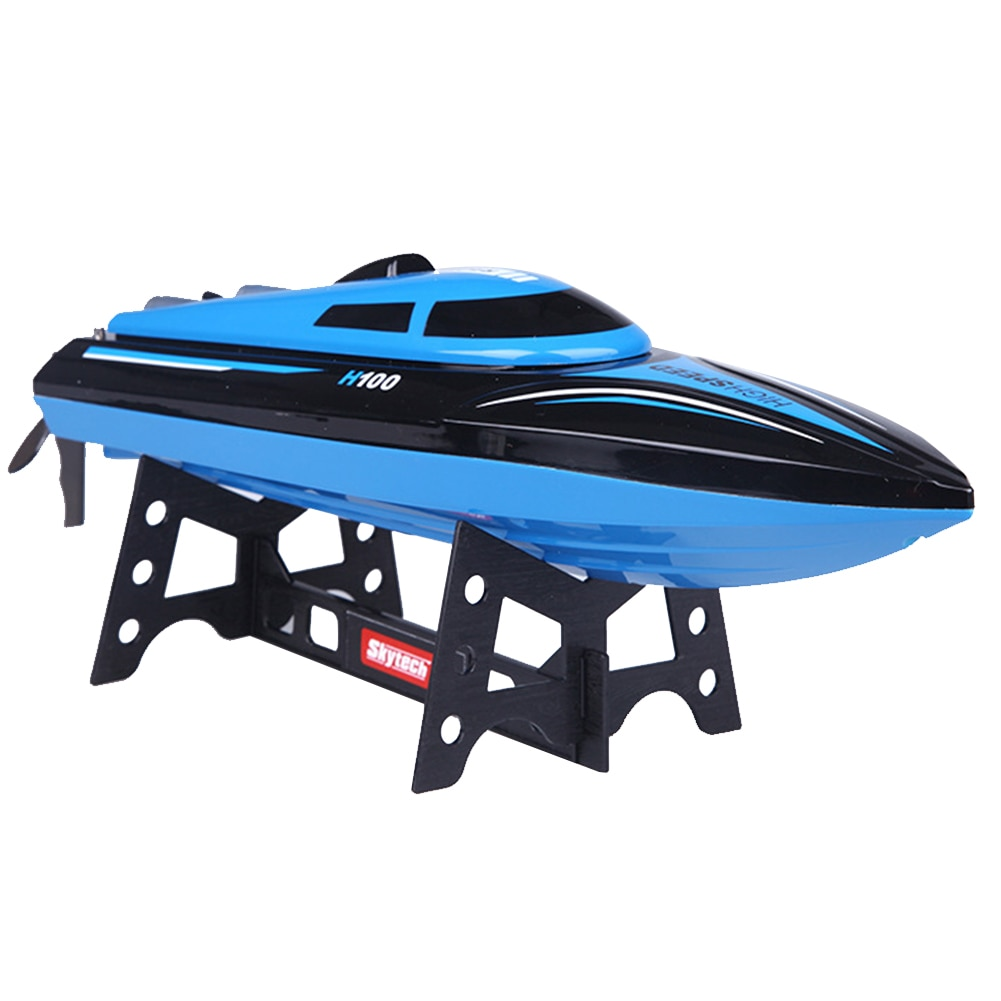 H100 Toy RC Boat Overwater With LCD Screen High Mini Racing 4 Channel Easy Operation Electric Gift  Shape enlarge