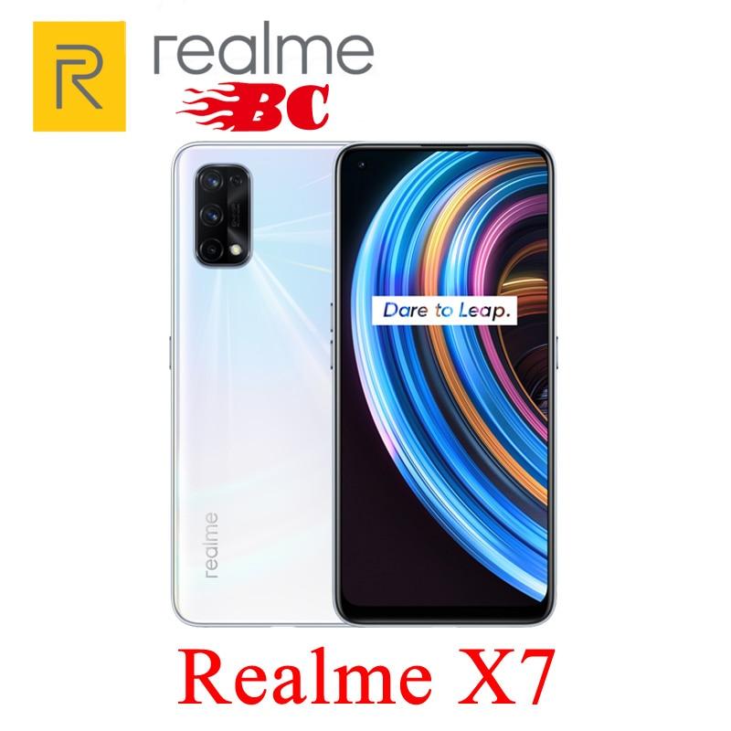 Перейти на Алиэкспресс и купить Новый оригинальный realmeX7 8GB 128G 5G мобильный телефон 6,4 дюймFHD + AMOLED 4300mAh 64-мегапиксельная четырехъядерная камера Восьмиядерный 2400x1080 65W быстрое заря...